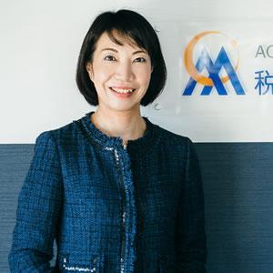國谷玲子税理士の写真